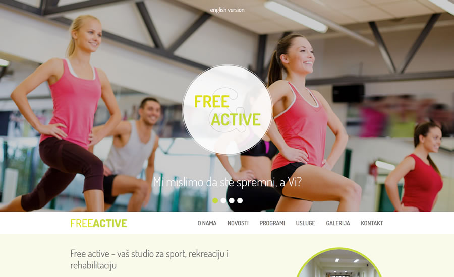 Freeactive - fitness studio