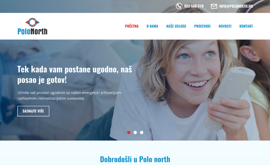 Polo north d.o.o. // E-scape web design Pula